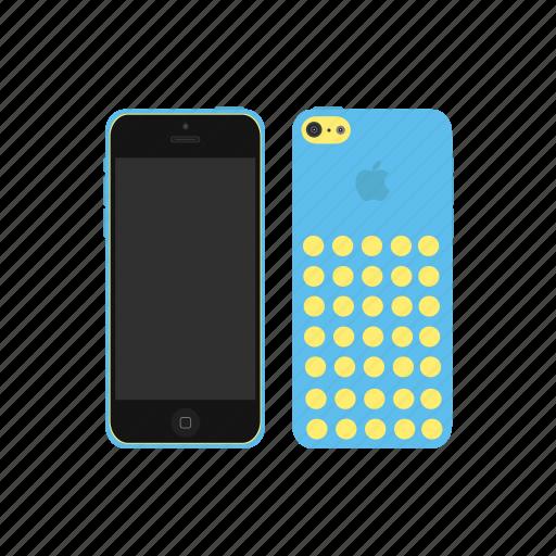 apple, heavenly, iphone, iphone 5c icon
