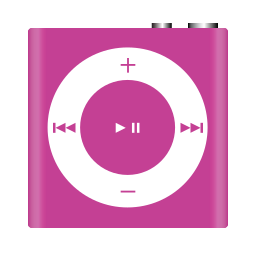 apple, ipod, nano, pink, shuffle icon