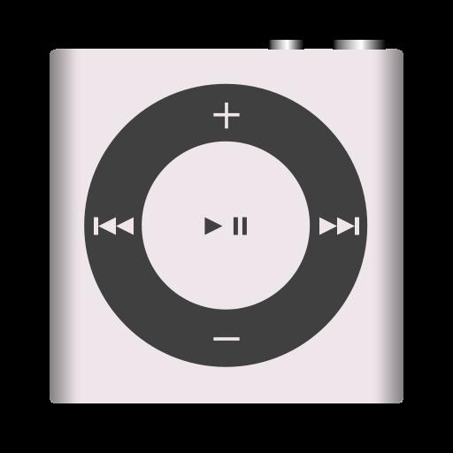 apple, ipod, nano, shuffle, white icon