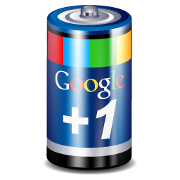 +1, 1, battery, google, google+, one, plus icon - Free download
