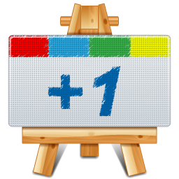 +1, canvas, google, google+, one, plus icon
