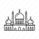 church, mosque, temple, worship icon