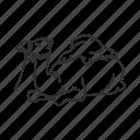 animal, camel, egypt, hoof icon