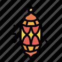 arabian, culture, islam, lantern icon