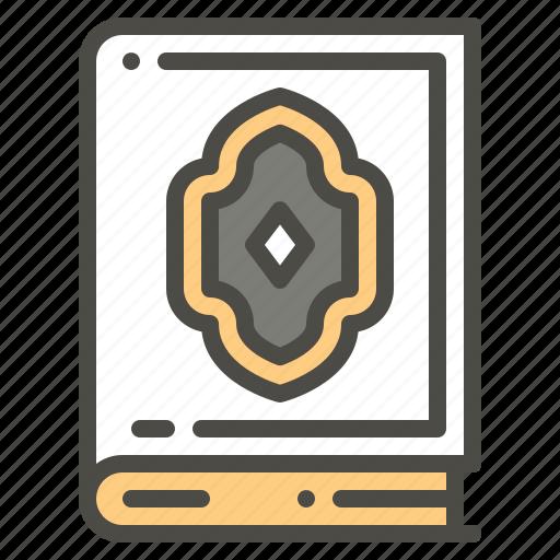 Alquran, book, islam, koran, moslem icon - Download on Iconfinder