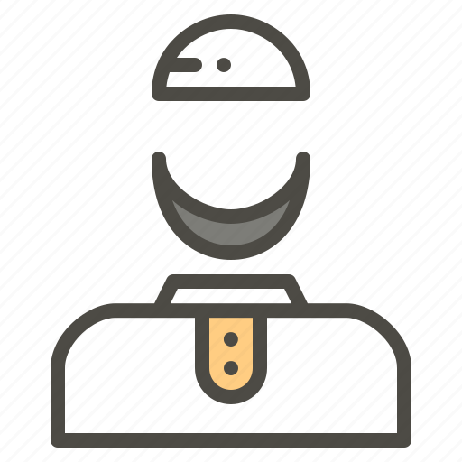 Avatar, beard, islam, man, moslem icon - Download on Iconfinder