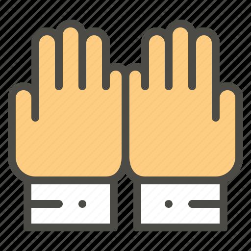 Hand, islam, moslem, pray, prayer icon - Download on Iconfinder
