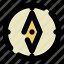 compass, qibla, direction, kabah