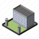building, cell, criminal, institution, prison, security, tower icon