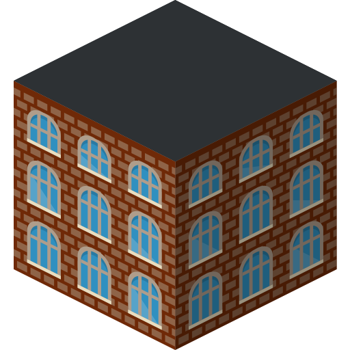building, school icon