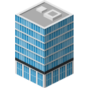 building, skyscraper icon