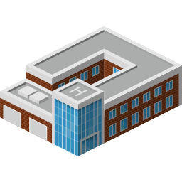 building, police, policebuilding icon