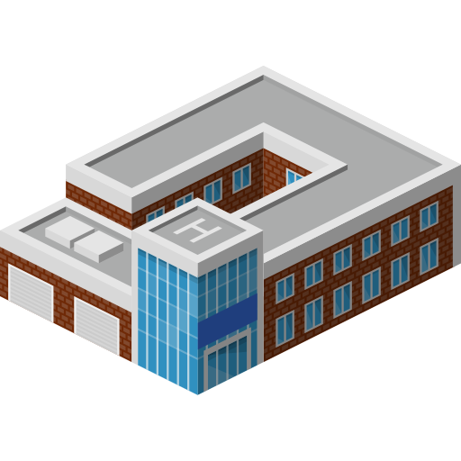 Building, policebuilding, police icon