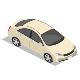 car, front, vehicle icon