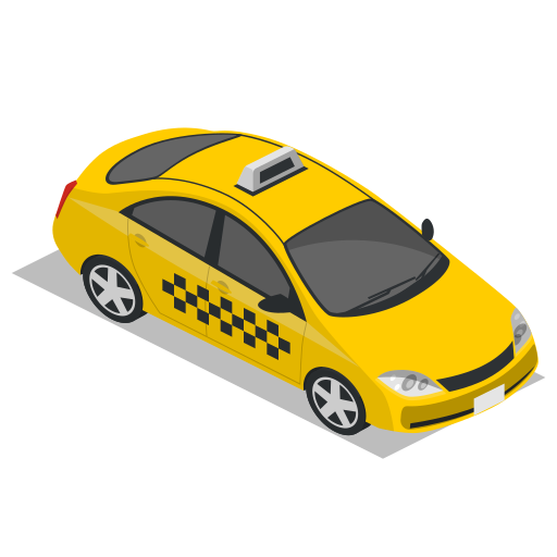 Car, public transport, taxi, vehicle icon - Free download