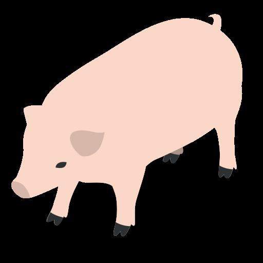 animal, animals, farm, pig, rural icon