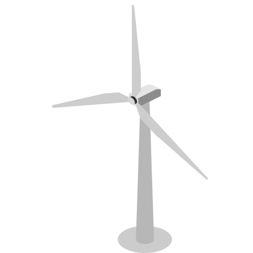 turbine, wind, wind turbine icon