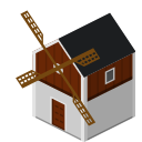 farm, mill, windmill icon