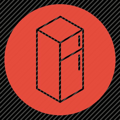 cooking, dinner, drinks, food, freezer, fridge, refrigerator icon