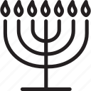 discover, israel, jewish, menorah, travel