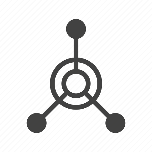 activity, connection, loader, network, round, spin, technology icon