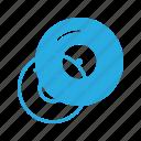 burn, cd, compact, data, disc, music, write icon