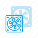 cooler, cpu, proceesor, ventilate icon