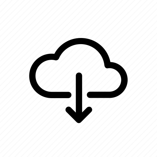 Cloud, download, download file, file transfer icon - Download on Iconfinder