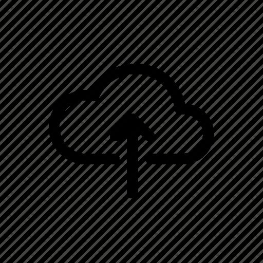 cloud, cloud storage, file transfer, storage, upload, upload file icon