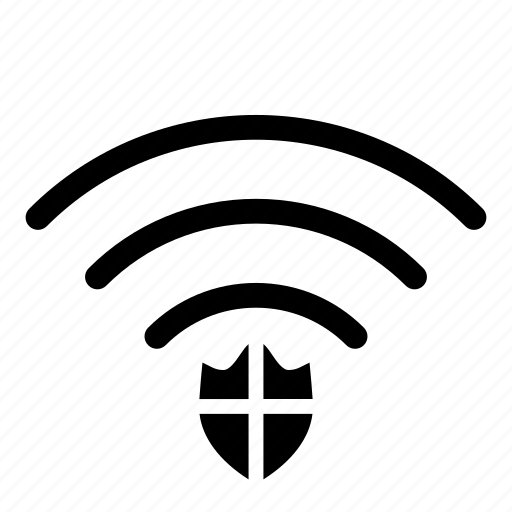 computer, hardware, it, programming, protect, service, wifi icon