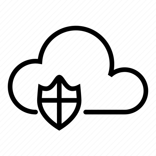 cloud, computer, hardware, it, programming, protect, service icon