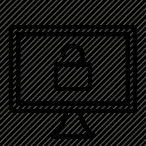 computer, hardware, it, programming, screen, service, unlocked icon