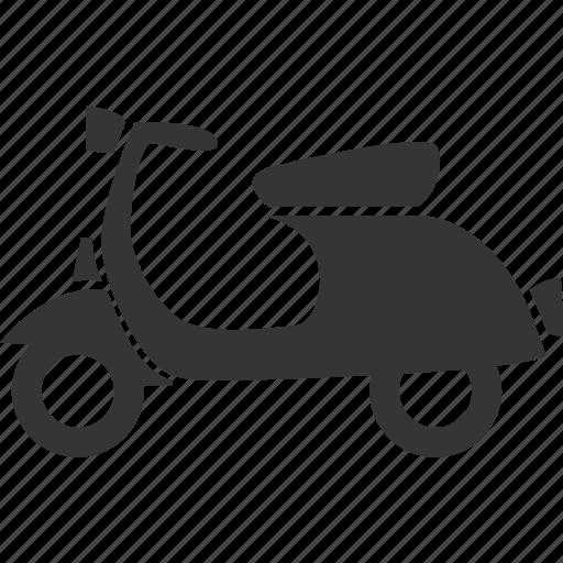 moped, motorbike, vehicle, vespa icon