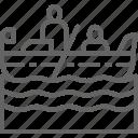 boat, culture, gondola, gondolier, italian, italy, venice