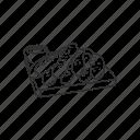 snack, sticks, food, dry bread, dip, breadsticks, bread