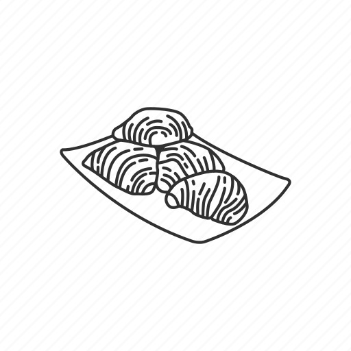 food, italian, italian food, lobster, lobster tail, sfogliatella icon