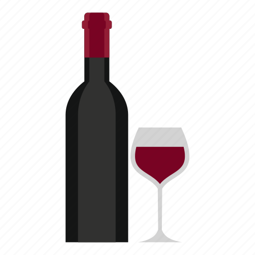 alcohol, bar, beverage, bottle and glass, cartoon, cocktail, drink icon