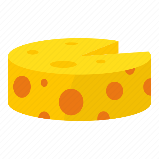breakfast, cartoon, cheddar, cheese, meal, milk, snack icon