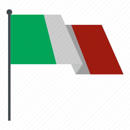 Italian flag, national, state, summit, travel, waving, world icon - Download on Iconfinder