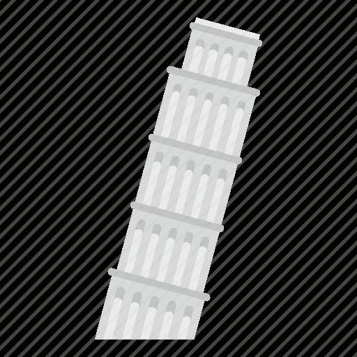 italian, outdoor, pisa, pisa tower, tour, tower, travel icon