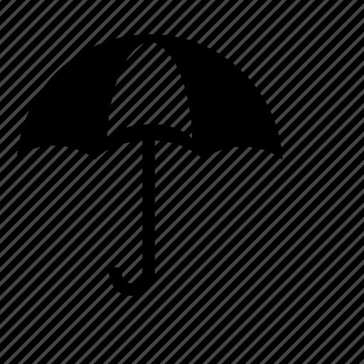 cloud, insurance, parasol, rain, snow, temperature, weather icon
