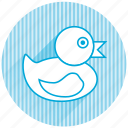 baby, baby items, bathduck icon
