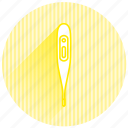 baby, baby items, thermometer icon