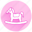 baby, baby items, woodyhorse icon