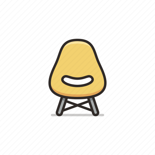 chair, decor, furniture, small icon