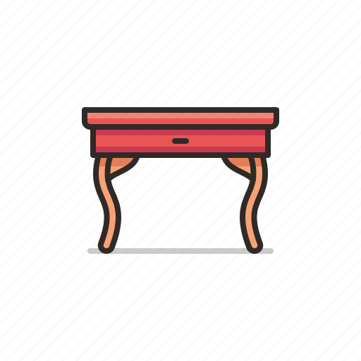 Hall, table, furniture, interior, study icon - Download on Iconfinder