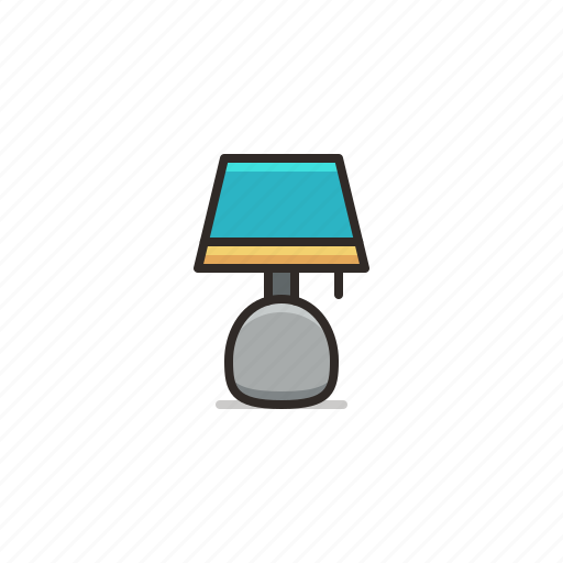 Lamp, furniture, home, light, lighting icon - Download on Iconfinder