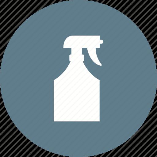 bottle, chemical, detergent, liquid, plastic, sprayer, water icon