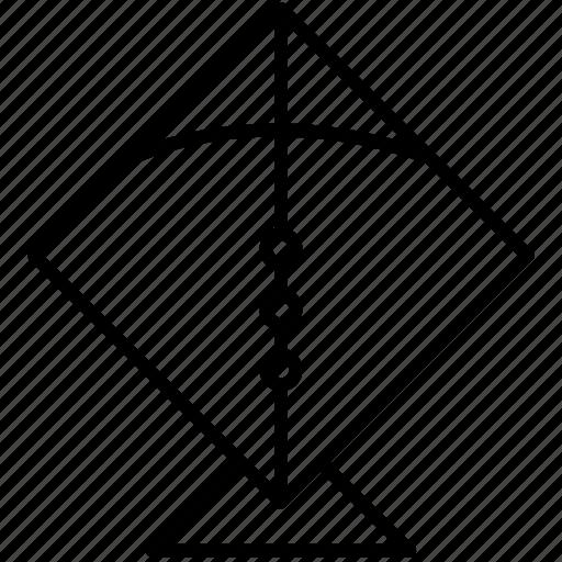 Kite, flying, fly, makar sankranti, festival icon - Download on Iconfinder