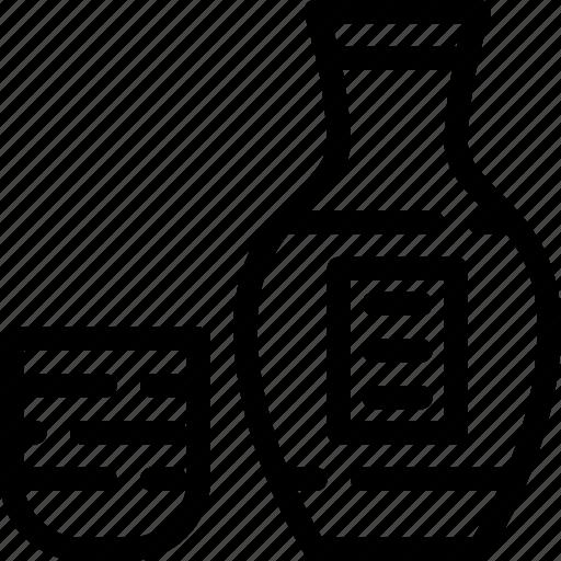 alcohol, drink, japan, sake icon